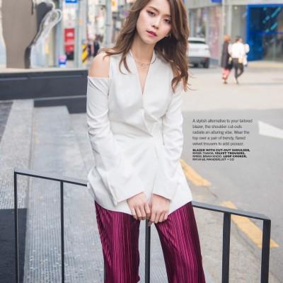 Female Malaysia Fashion Editorial Spread June '17