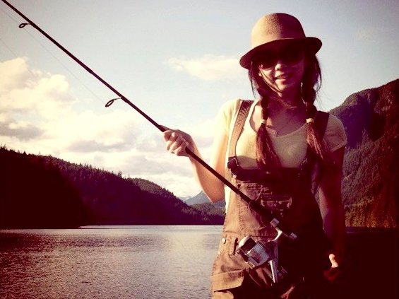 Oh, and I love fishing too! Yes, that's a sport!