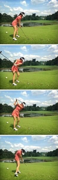 My golf swing in stop motion!