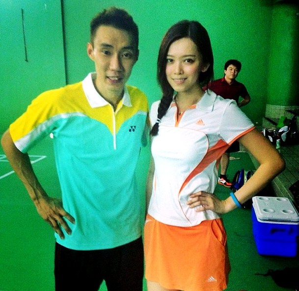Having the honour to play doubles in the SAME team as Dato' Lee Chong Wei??  Best day everrrr